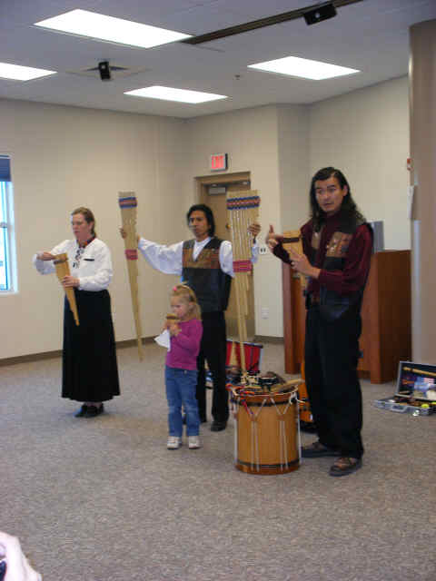 Washoe County Library presentation for Dia del Niño